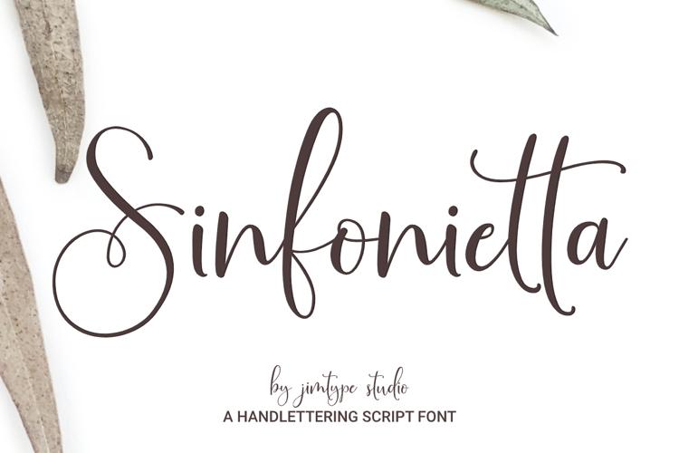 Sinfonietta Font