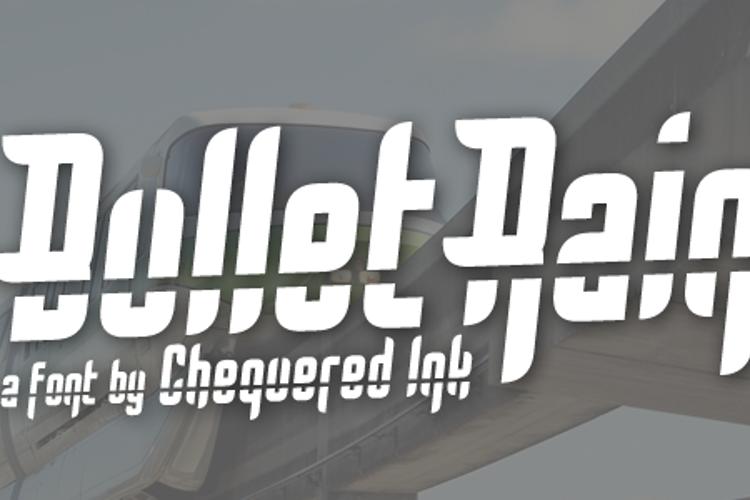 Bullet Rain Font