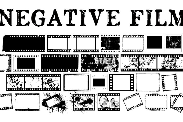 NegativeFilm Font