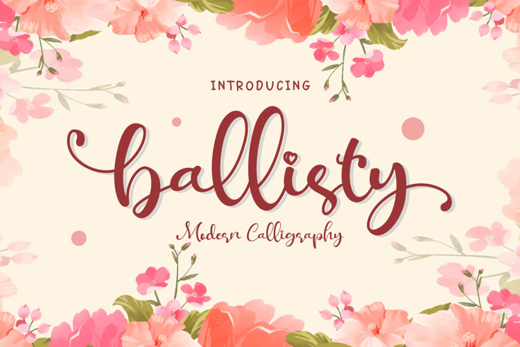 Ballisty Font