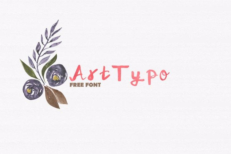ArtTypo_Symufa Font