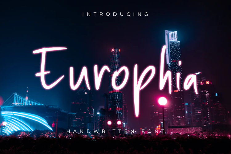 Europhia Font