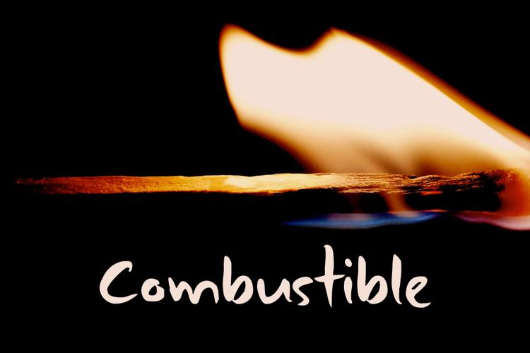 DK Combustible Font