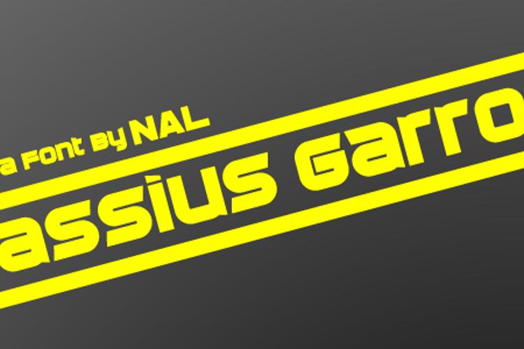 Cassius Garrod Font