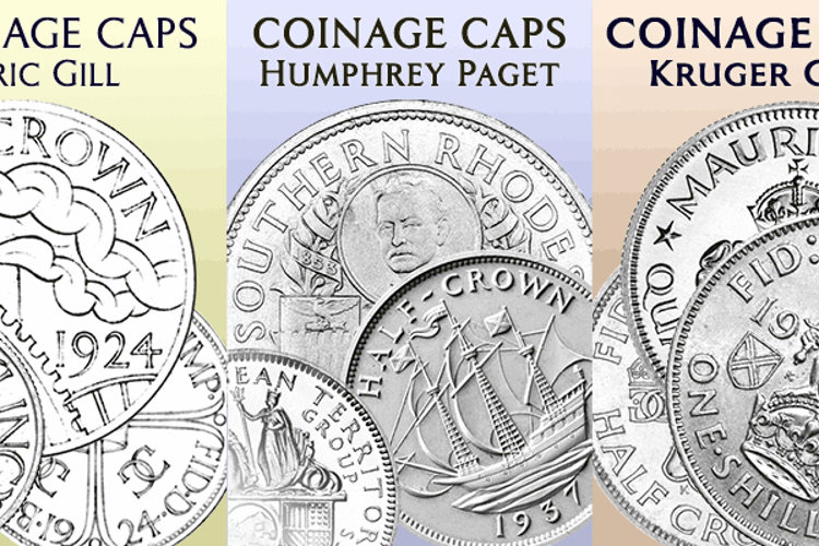 Coinage Caps Kruger Gray Font
