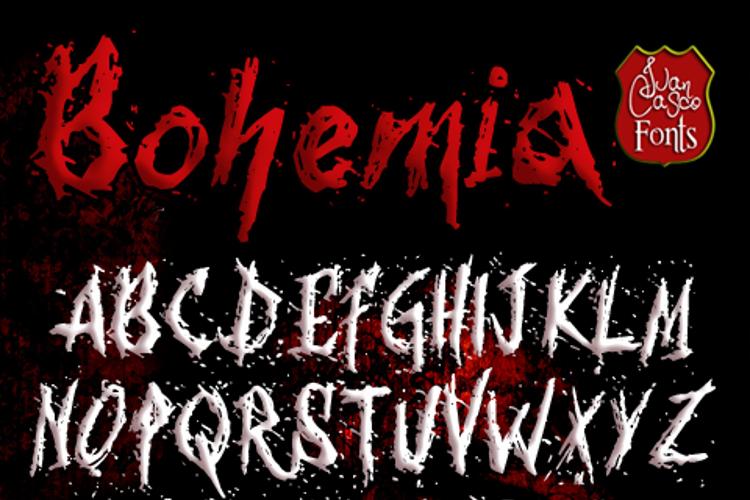 Bohemia Font