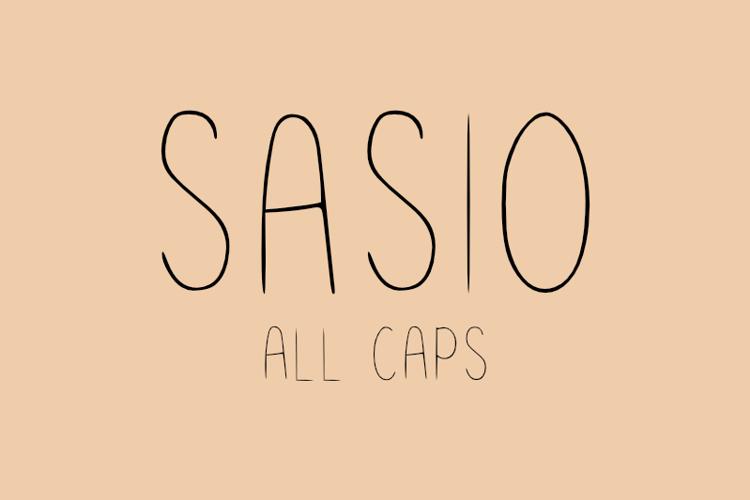 Sasio Font