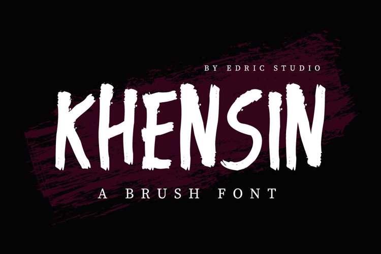 Khensin Font