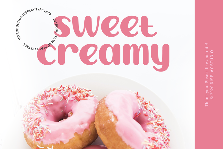 Sweet Creamy Font