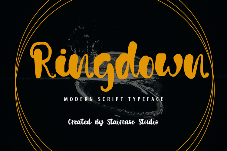 Ringdown Font