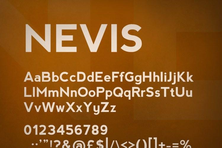 nevis Font