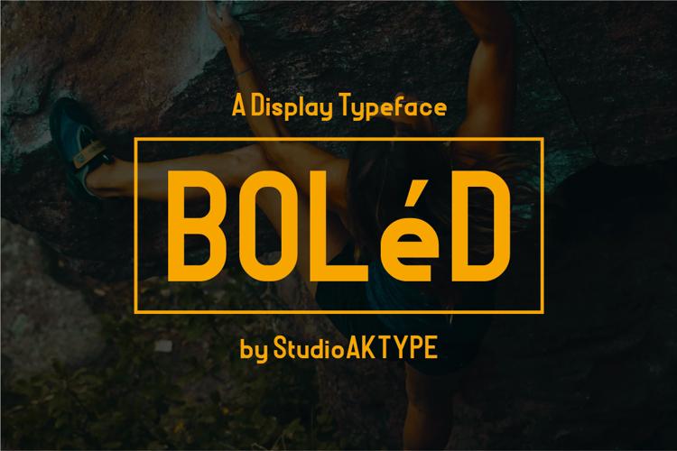 BOLeD Font
