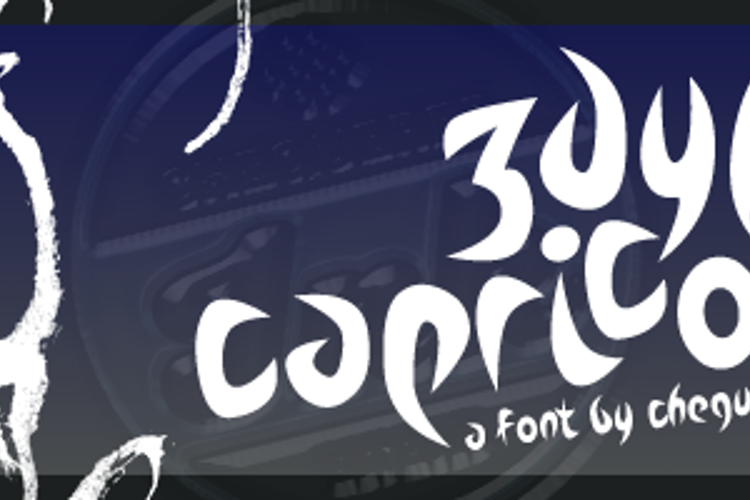 Zdyk Capricorn Font