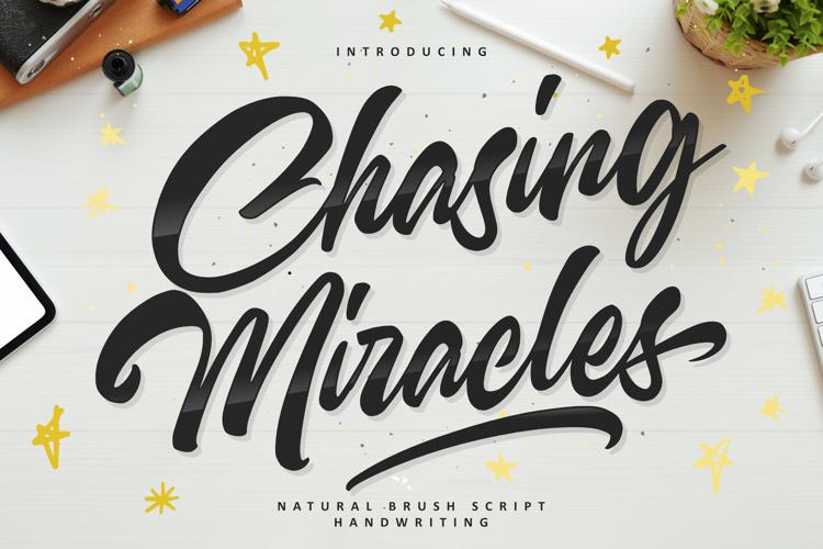Chasing Miracles Font
