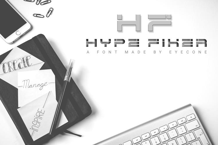 Hype Fixer Font