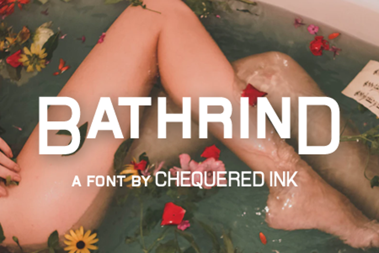 Bathrind Font