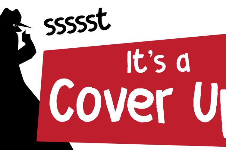 DK Cover Up Font