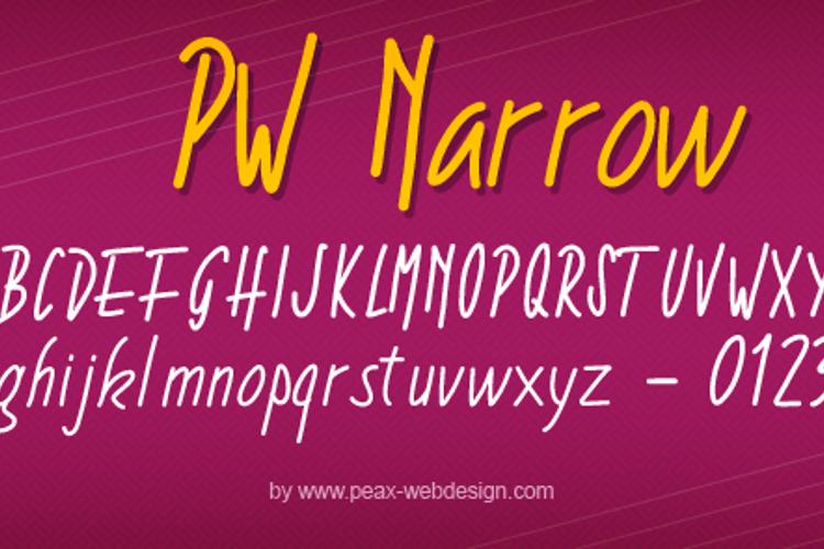 PWNarrow Font