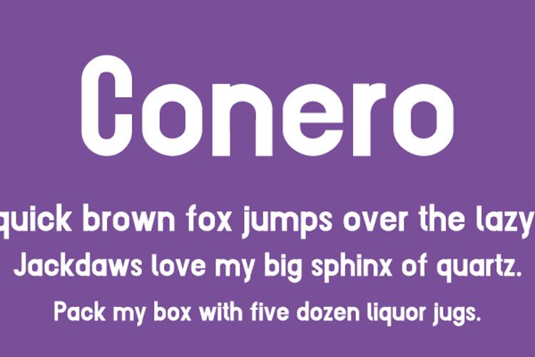 Conero Font
