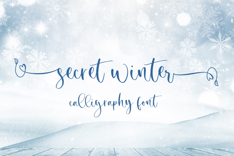 Secret Winter Font