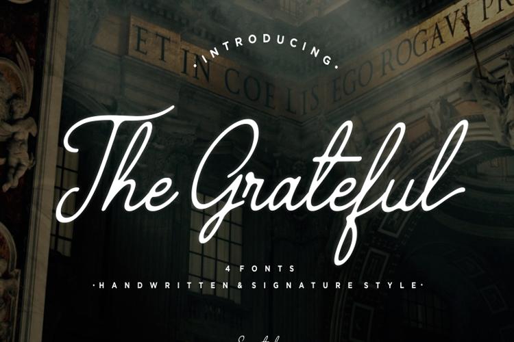 The Grateful 4 Font