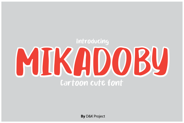Mikadoby Font
