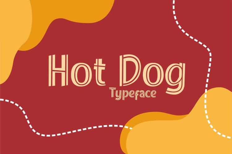 Hot Dog Font