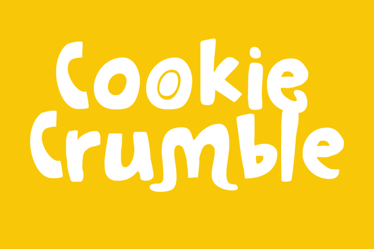 Cookie Crumble Font