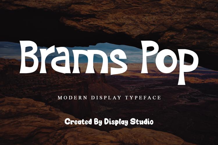 Brams Pop Font