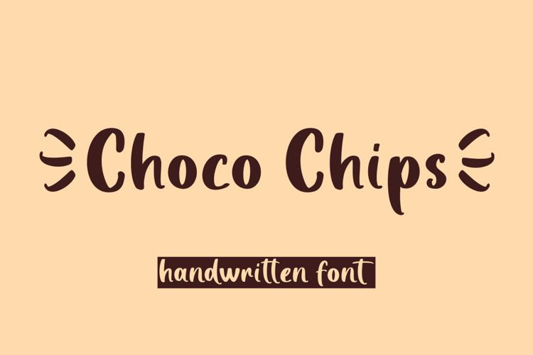 Choco Chips Font
