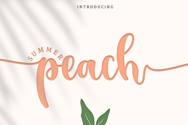 Summer Peach Font