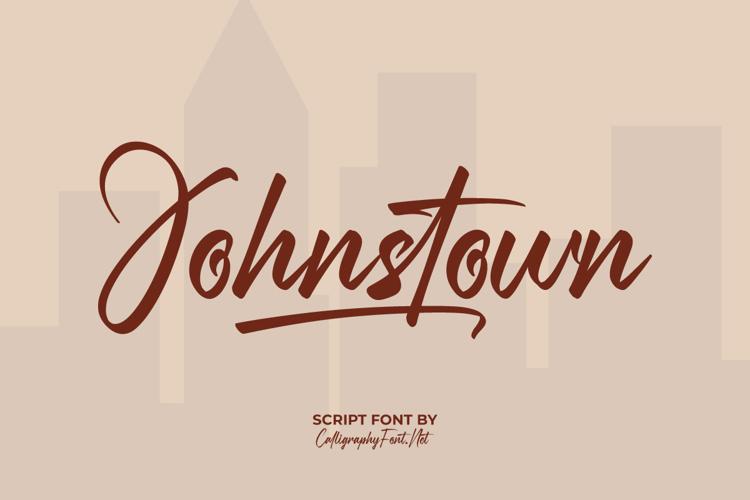 Johnstown Font