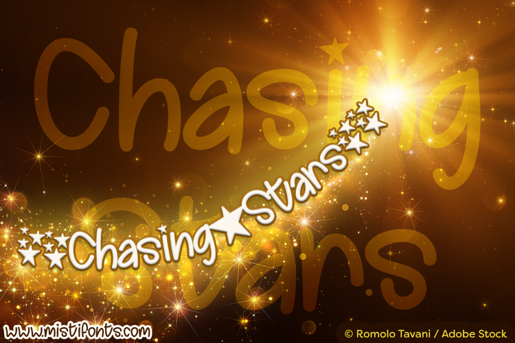 Chasing Stars Font
