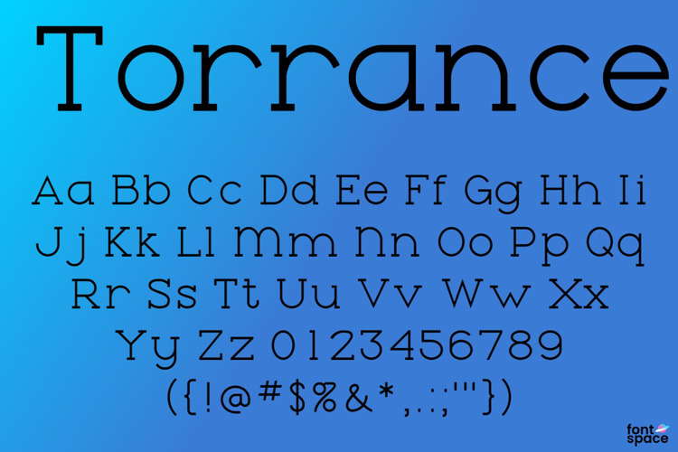 Torrance Font