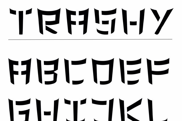 Trashy Font