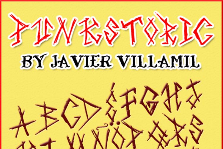 Punkstoric Font