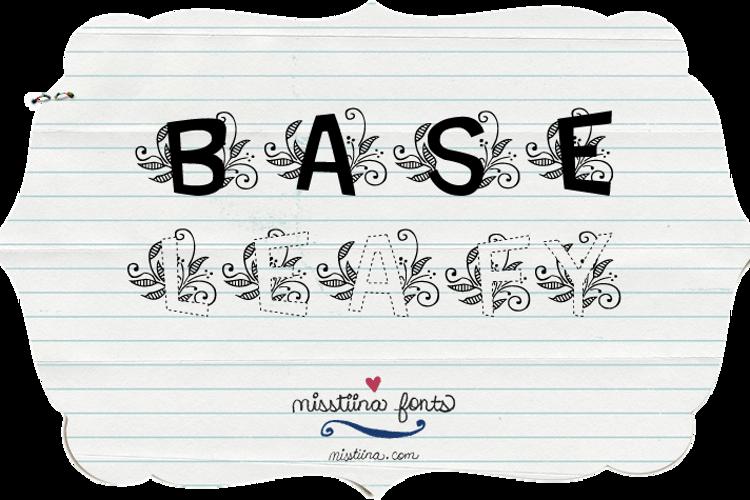 MTF Base Leafy Font