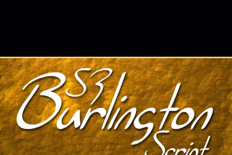 SF Burlington Script Font