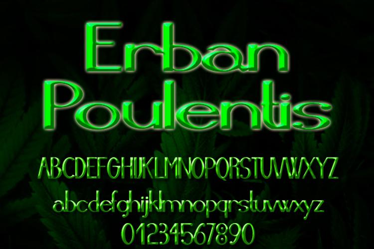 Erban Poulentis Font