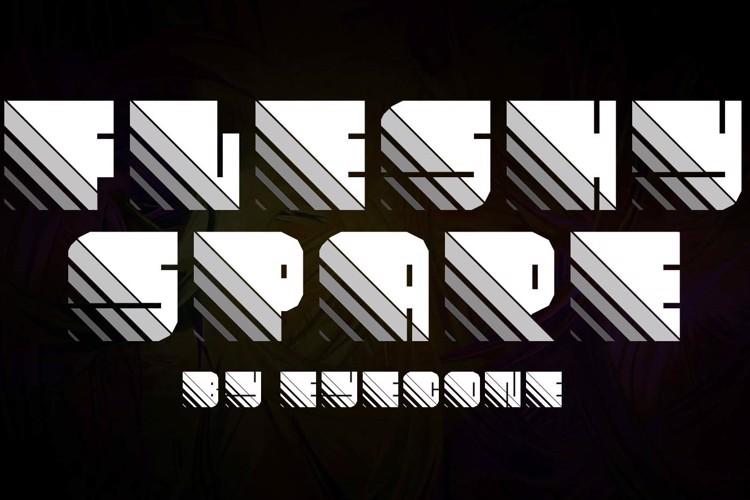 Fleshy Spare Font