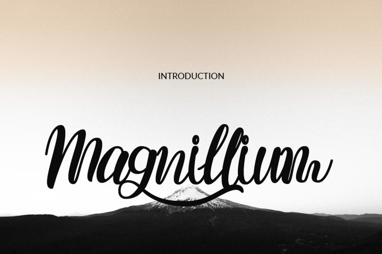 Magnillium Font