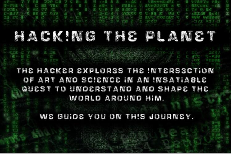 HackingTrashed Font