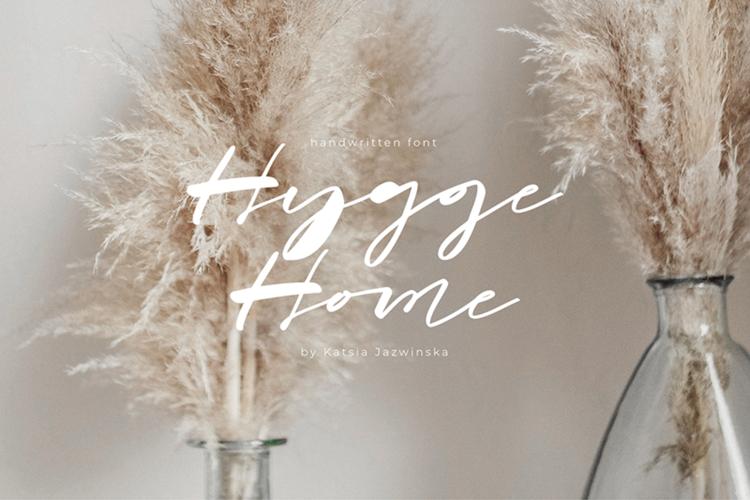 Hygge Home Font