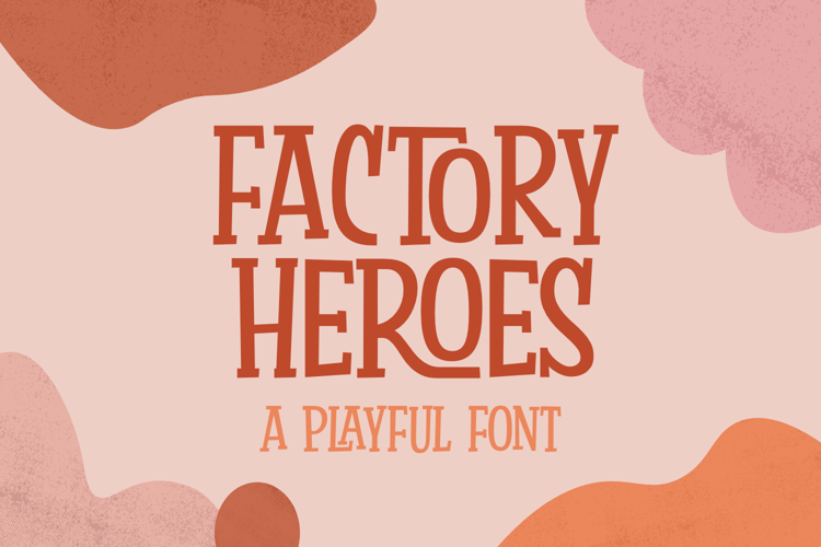 Factory Heroes Font