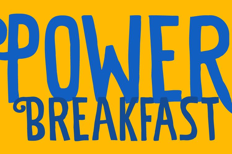 Power Breakfast Font