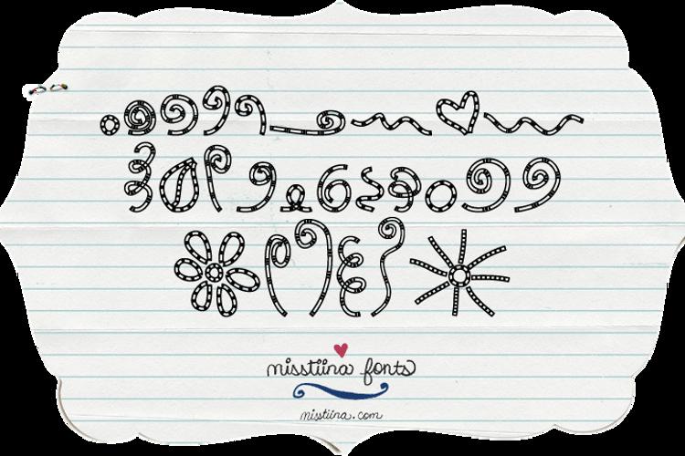 MTF Chunkie Doodle Font