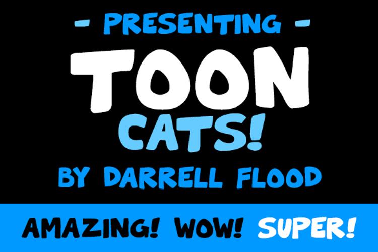 Toon Cats Font