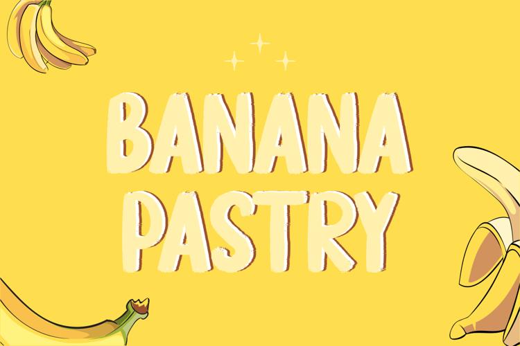 Banana Pastry Font