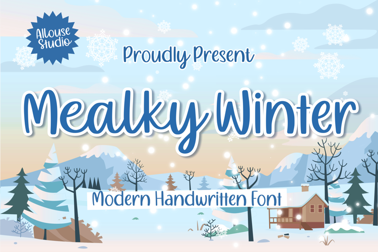 Mealky Winter Font
