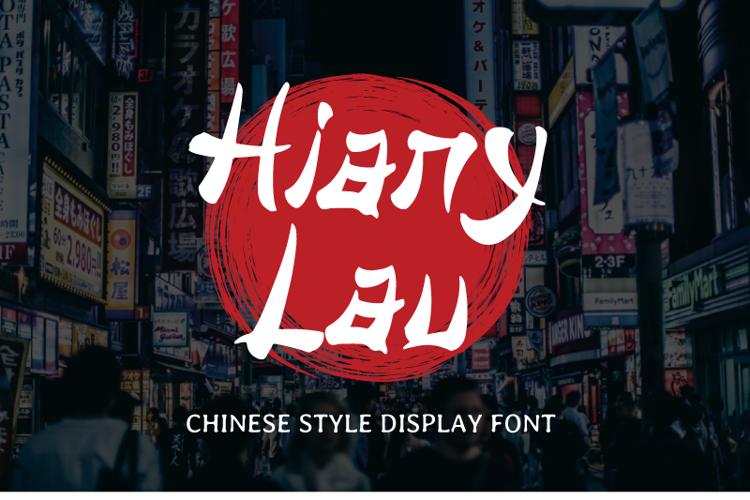 Hiany Lau Font